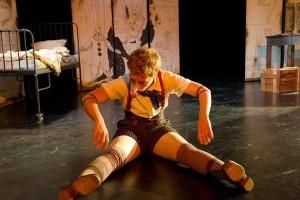 Som Pinocchio i Pinocchio av Rossini. Foto: Jutta Misbach